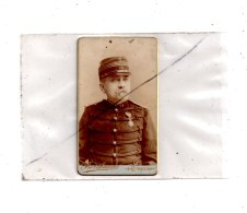Militaria , Personnage  Photo Berthaud Evreux , Dim  10x6 - Characters