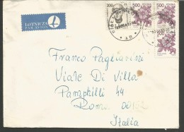 SPPOLSKA48---  STORY POSTAL,  POLAND, POLONIA,   BALAKI PLOCK--ROMA, ITALY, - 1944-.... Repubblica