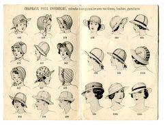 Carton Publicitaire Avec Tarifs De La Manufacture De Chapeaux Piqués - Etabts. Michel Bozon à Lyon - Publicités