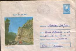 Romania,postal Stationery Cover,used 1986 , Bicaz Canyon - Postal Stationery