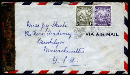 A3964) UK Barbados Cover From St. Peter 1947 To US - Barbados (...-1966)
