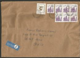 SPPOLSKA57---  STORY POSTAL,  POLAND, POLONIA,   PLOCK--ROMA, ITALY, - 1944-.... Repubblica