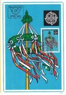 Oostenrijk - FDC 22-5-1981 - Europa/CEPT - Folklore - WIPA Europatag - Wenen/Wien - M 1671 - 1981