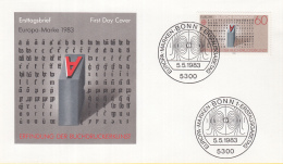 Duitsland - FDC 5-5-1983 - Europa/CEPT - Große Werke Des Menschlichen Geistes -  Bonn 1 - M 1175-1176 - 1983