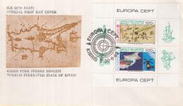 Turks-Cyprus - FDC 30-6-1983 - Europa/CEPT - Große Werke Des Menschlichen Geistes - Kibris - M Blok 4 - 1983