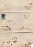 1875 LETTERA CON ANNULLO CASTELLI TERAMO - 1861-78 Vittorio Emanuele II