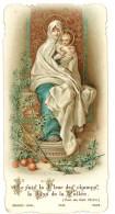 Image Religieuse / Pieuse : ... Vierge ..  Lys De La Vallée ... Pensionnat De Tatania, Communion - Images Religieuses