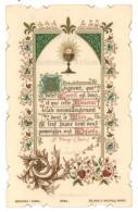 Image Religieuse / Pieuse : ... 1ere Communion ... Pensionnat De Tatiana - Images Religieuses