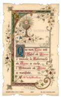 Image Religieuse / Pieuse : ... 1ere Communion ... église Du Teil ( Ardèche ) - Images Religieuses