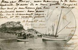 FRANCE -  1902 - St MALO - Le Rocher De Cezembre - Vignettte -  VG Postmarks Etc - Saint Malo