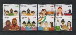 Portugal  2013  Mi.Nr. 3832 / 3839 , Festas - Postfrisch / MNH / (**) - Nuevos