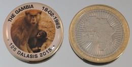 Gambie 125 Dalasis 2015 Bimetal Couleurs Animal - Gambia