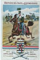 Luxembourg (Lëtzebuerg) - Luxemb. Bundeskontingent - Artillerie à Cheval 1842-1847 Ettelbrück / Echternach (Kuschmann) - Postkaarten