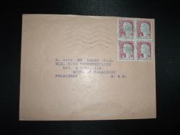 LETTRE TP MARIANNE DE DECARIS 0NL.21-2-1964 ARGENTEUIL PPAL SEINE ET OISE (95 VAL D'OISE) - 1960 Marianne Of Decaris