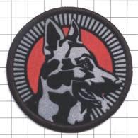 Ecusson / Patch / Toppa / Parche. EU. Police. Lithuania. Dog. K9 - Police