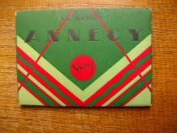 Ancien Petit Bloc De 10 Cartes Photos D'annecy - Annecy