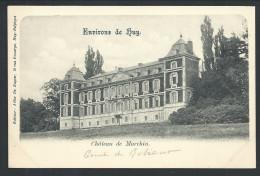 CPA - Environs De Huy - Château De MARCHIN - F. De Ruyter   // - Marchin