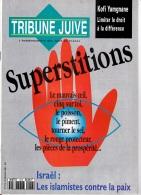 TRIBUNE JUIVE. Superstitions - Informations Générales