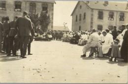 54 - MEURTHE ET MOSELLE - Messe En Plein Air A Caserne De LABRY - Carte Photo Allemande - Ohne Zuordnung