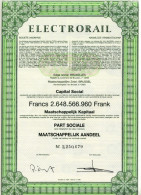 ELECTRORAIL - Electricity & Gas