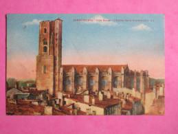 CARCASSONNE - Ville Basse - L'église Saint-Vincent - Carcassonne