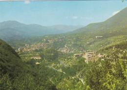 SUBIACO : Veduta Panoramica - S. Scolastica - Italia