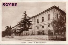 Toscana-arezzo-foiano Della Chiana Veduta R.agenzia Tabacchi Edificio Anni/20 - Italia