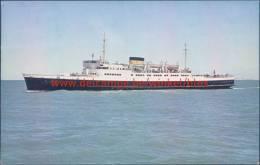 Zeevaartlijn Oostende-Dover Pakketboot - Oostende