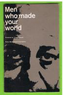 Yousuf Karsh-tentoonstelling,'Men Who Made Your World',Antwerpen, Koninklijk Museum Voor Schone Kunsten,1971 - Programma's