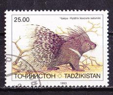 Tagikistan 1993-Istrice-Usato - Tagikistan