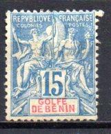 3/ Benin : N° 25 Neuf X MH  , Cote :  48,00 € , Disperse Trés Belle Collection ! - Neufs