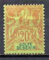 3/ Benin : N° 26 Neuf X MH  , Cote :  27,00 € , Disperse Trés Belle Collection ! - Bénin (1892-1894)