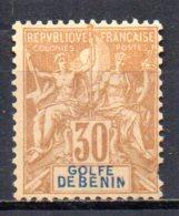 3/ Benin : N° 28 Neuf X MH  , Cote :  35,00 € , Disperse Trés Belle Collection ! - Bénin (1892-1894)