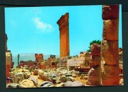 LEBANON  -  Baalbeck  Unused Postcard - Lebanon
