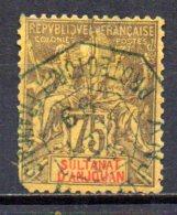 3/ Anjouan : N° 12 Oblitéré  , Cote :  38,00 € , Disperse Trés Belle Collection ! - Anjouan (1892-1912)
