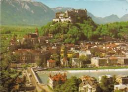 Austria Salzburg Fortress Seen From The Kapuzinerberg