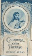 Petit Calendrier De Poche/Religieux/Sainte Thérése De L´Enfant Jésus/1934   CAL319 - Petit Format : 1921-40