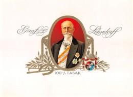 "05299  ""GRAF LEHNDORFF - ETICHETTA PER CONFEZIONE SIGARI "" ETICHETTA ORIGINALE - Documents"