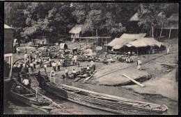 "ASIA - BURMA - MYANMAR  RANGOON ""  River Scene On The Irrawaddy "" - édit. P. Klier Rangoon - Myanmar (Burma)"