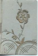 Petit Calendrier De Poche/Fleur Gauffrée Et Dorée/Charmant/1946   CAL323 - Kalenders