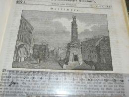 Baltimore USA America Engraving Print 1838!!! - Prints & Engravings