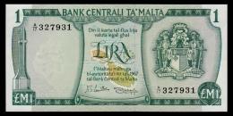 Malta 1 Lira 1967 (1973) UNC- - Malta
