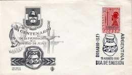 ARGENTINIEN FDC 1961 - 2 Pesos Auf Erstag-Schmuckbrief - FDC