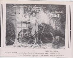 """Publicité Bicyclette """" Terrot """" - Advertising"""