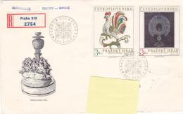 1974 - Registered Mail Praha Prazsky Hrad (to Luxembourg) - FDC