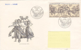 1975 - Osvobozeni Sovetskou Armadou 1975-1975 (to Luxembourg) Colombe De La Paix - FDC