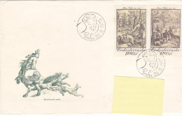 1975 - Painter Peintre Art Philip Galle Jacques Callot (to Luxembourg) - FDC