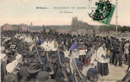 V2982 Cpa 45 Orléans - Procession De Jeanne D'Arc, Es Evâques - Orleans