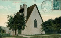 CA PORTAGE LA PRAIRIE / Saint Mary's Church, Portage La Prairie / CARTE COULEUR GLACEE - Manitoba