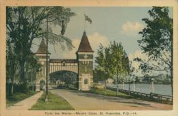 CA SAINTE HYACINTHE / Porte Des Maires / CARTE COULEUR - St. Hyacinthe